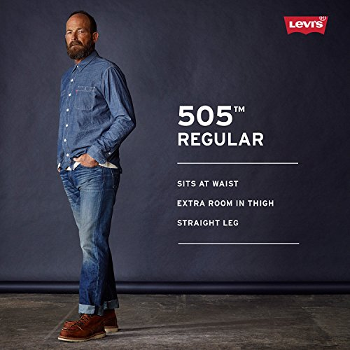 Large Product Image of Levi's Men's 505 Regular Fit Twill Pant