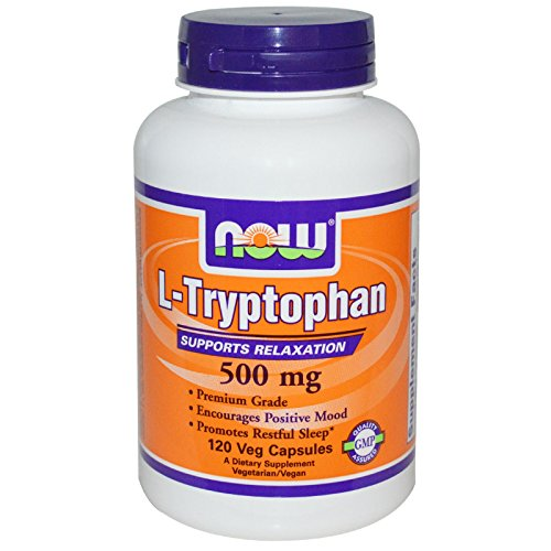 - Now Foods L-tryptophan 500mg, Veg-Capsules, 240-Count