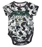 Major League Packers Green Bay Camo Baby Boys Bodysuit