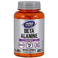 AHORA Deportes Beta-alanina 750 mg, 120 cápsulas