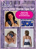 Nature's Approach Aromatherapy Home Spa 4-Piece Herbal Pack Set, Celestial Indigo