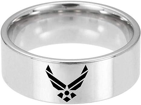 Armed Forces United States Coast Guard emblem on a silver plated bangle bracelet
