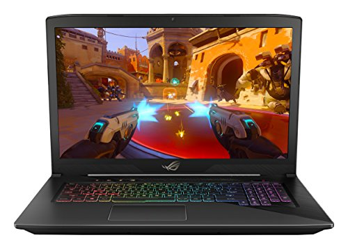 ASUS ROG STRIX GL703VD 17.3″ Gaming Laptop, GTX 1050 4GB, Intel Core i7 2.8 GHz, 16GB DDR4, 1TB FireCuda SSHD, RGB Keys
