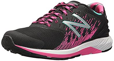 New Balance Girls FuelCore Urge Running Shoes, Black /Pink Glo, EU 38 1/2