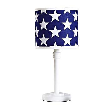 Lámpara de mesa para niños, Estrella Blanca sobre Pantalla ...