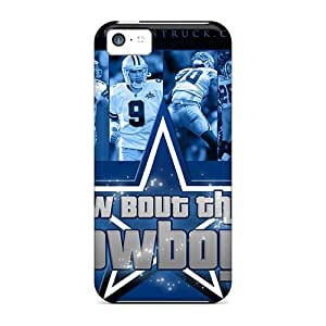 Protective Hard Cell-phone Cases For Iphone 5c With Unique Design Vivid Dallas Cowboys Pattern IanJoeyPatricia