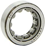 SKF RNU 204 Cylindrical Roller Bearing, Removable Inner Ring, Straight Bore, RBEC 1 Tolerance, Normal Clearance, Standard Cage, Metric, 27mm Bore, 47mm OD, 14mm Width
