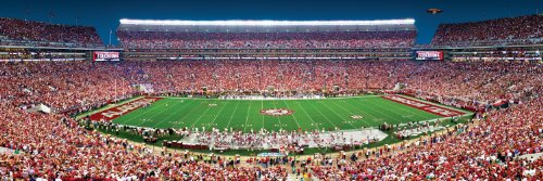MasterPieces Collegiate Alabama Crimson Tide 1000 Piece Stadium Panoramic Jigsaw Puzzle