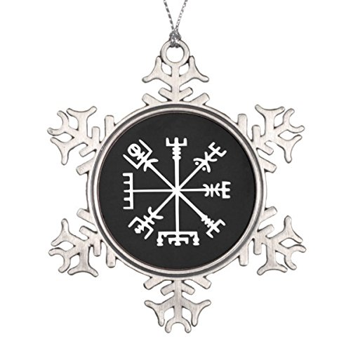 (Follies Christmas Vegv237;sir (Viking Compass) Snowflake Pewter Christmas)