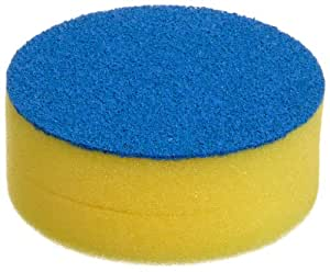 "Bel-Art Scienceware 170780000 Cleanware Glassware Scrubbing Sponge, 3-7/8"" Diameter x 1-1/2"" Height"