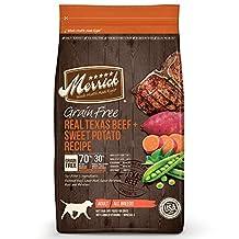 Merrick 38340 GFree Texas Beef and Sweet Potato, Small, Orange