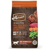 Merrick Grain Free Real Texas Beef & Sweet Potato Dry Dog Food, 4 Lbs.