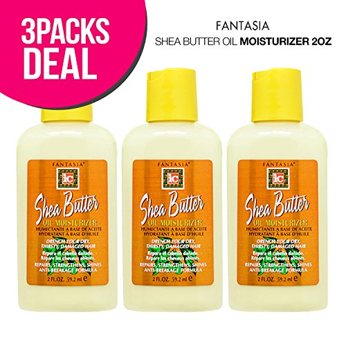 Fantasia Shea Butter Oil Moisturizer 2oz (3-PACK)