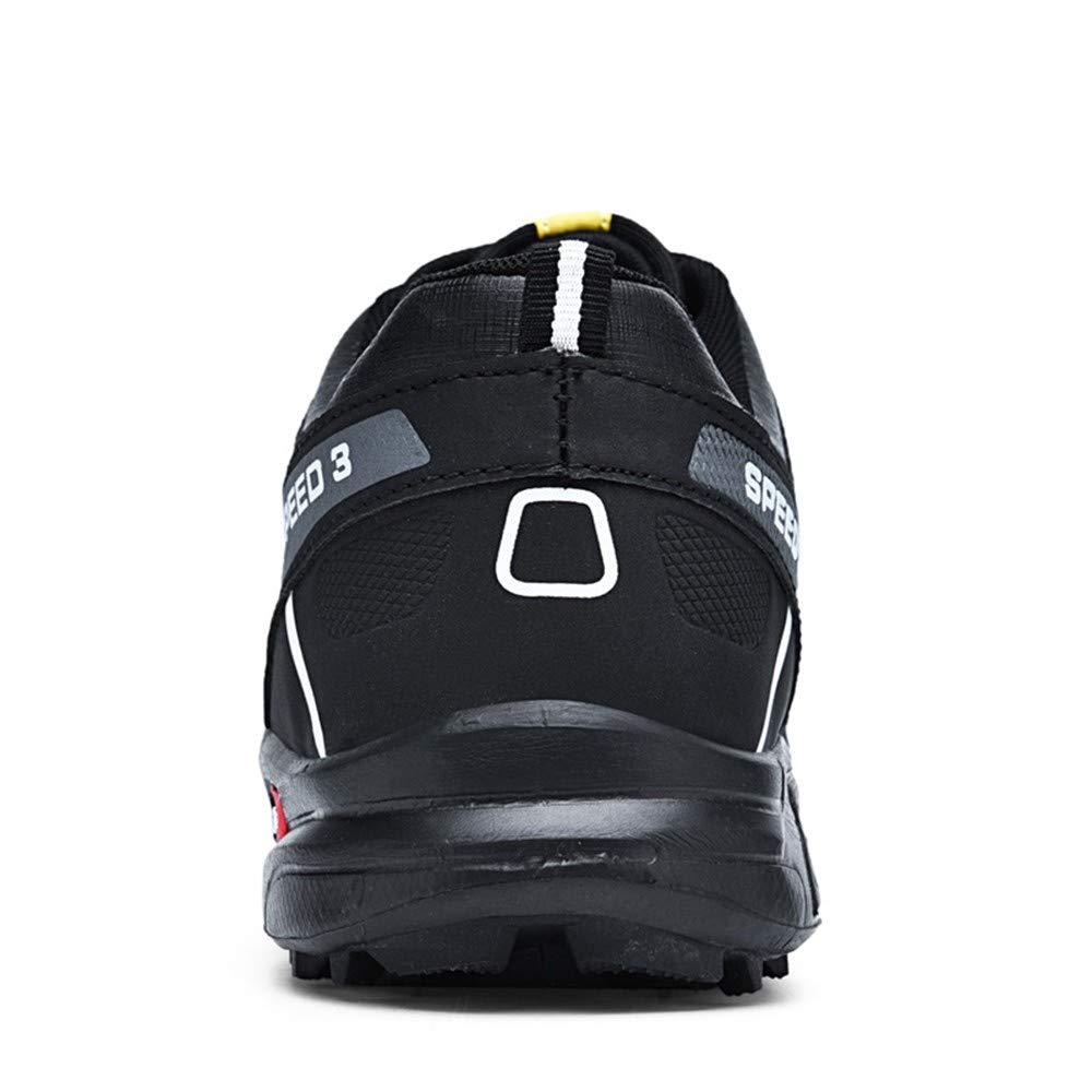 Sneakers Uomo Bianche ASHOP Scarpe da Ginnastica Antiscivolo da Uomo Scarpe da Trekking Scarpe da Ginnastica Sportive da Esterno Nero//Blu//Grigio EU 39-48