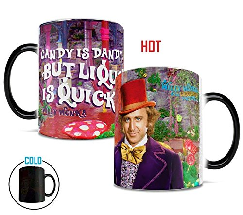 Willy Wonka and the Chocolate Factory (Liquor Is Quicker) Morphing Mug Film Cell Factory