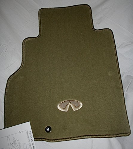 2006 TO 2010 Infiniti M35/M45 Factory Replacement Carpeted Floor Mats - Wheat/Beige