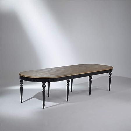 Robin Des Bois Table De Salle A Manger Aude Noire Extensible
