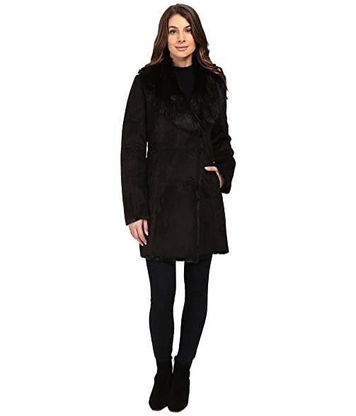 Amazon.com : Marc New York by Andrew Marc Sarah Faux Suede/Fur ...