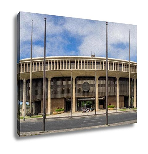 Ashley Canvas, Hawaii State Legislature Honolulu, Home Decoration Office, Ready to Hang, 20x25, AG6406534 by Ashley Canvas