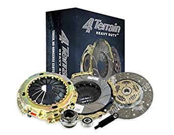 4Terrain Heavy Duty Premium Clutch Kit with ER2 Heavy Duty Cover Assembly Heavy Duty Clutch Plate