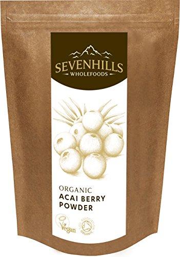 Sevenhills Wholefoods Acai-Beeren-Pulver Bio 250g