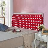 Sofa large backrest / detachable bedside cushions cushions / removable washable bed triangular big cushions / ( Size : 1805012cm )