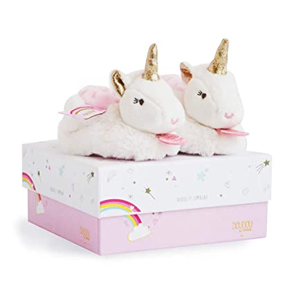 Doudou et Compagnie Zapatillas unicornio