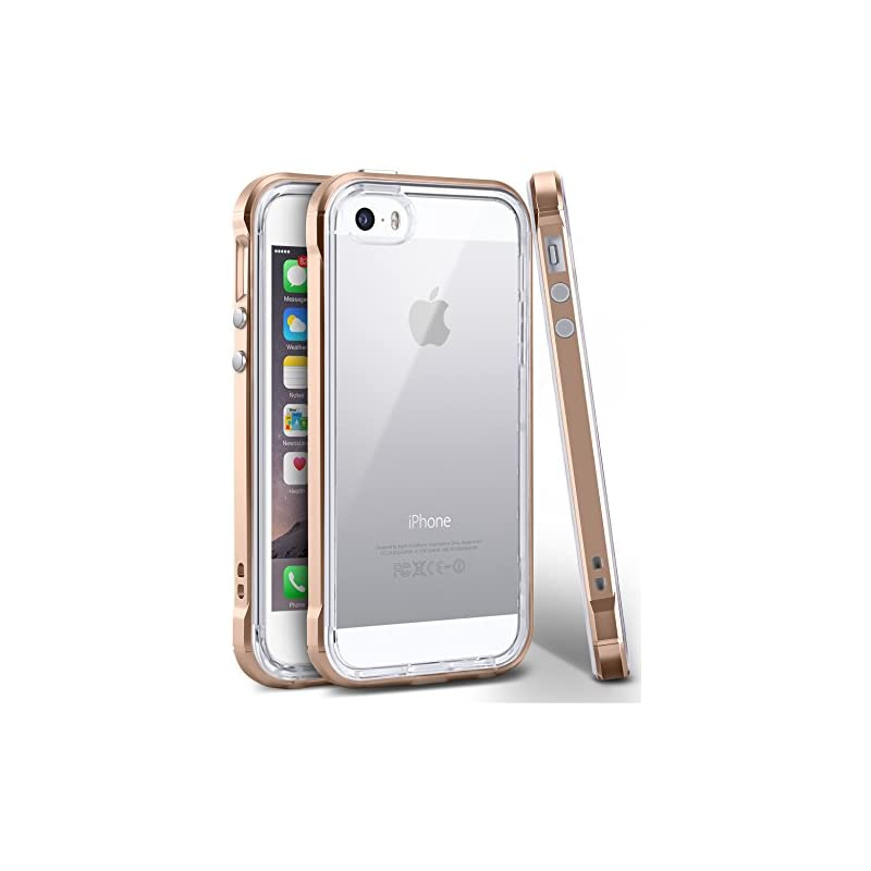 iPhone SE Case, Ansiwee Reinforced PC Fr