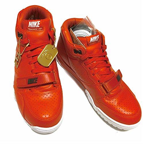 Nike - Zapatillas de Piel para hombre Marrón Rust/Rust-White