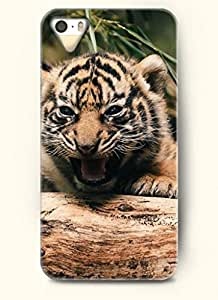 OOFIT phone case design with Tiger Howling for Apple iPhone 4 4s by lolosakes by lolosakes