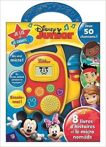 Disney Junior Je Lis Et Je Chante 9781503713994 Amazon