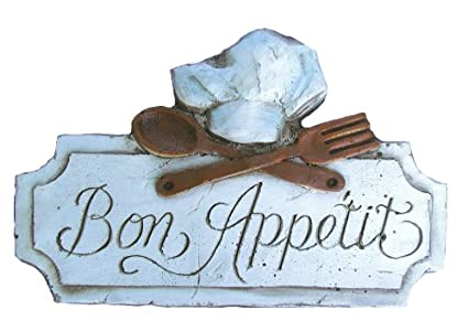 French Bon Appetit Kitchen Decor Sign