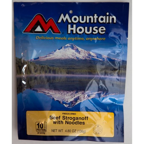 Mountain House Beef Stroganoff - Mountain House Beef Stroganoff - 2 Servings