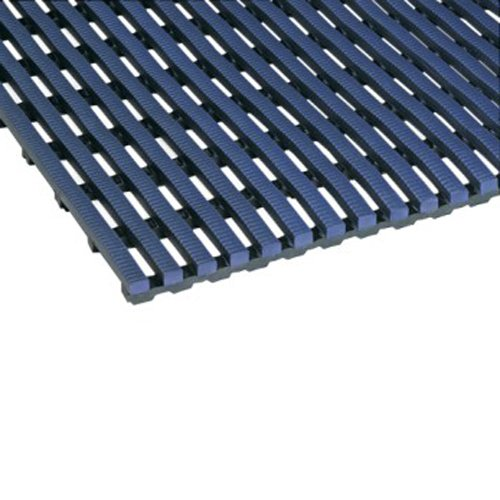 Mats Inc. Barepath Comfort & Wet Area Matting, 2' x 3', Oxford Blue