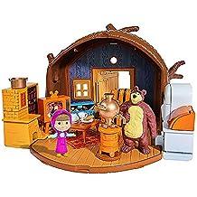 HOUSE BEAR MASHA PACKABLE 109301632 Masha and the Bear - Bear's Home Playset