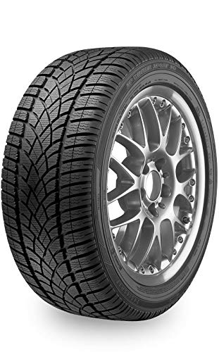 Dunlop Winter Sport 3D ROF Tires 245/45R19XL Run Flat 102V (Sport Winter 3d Dunlop)