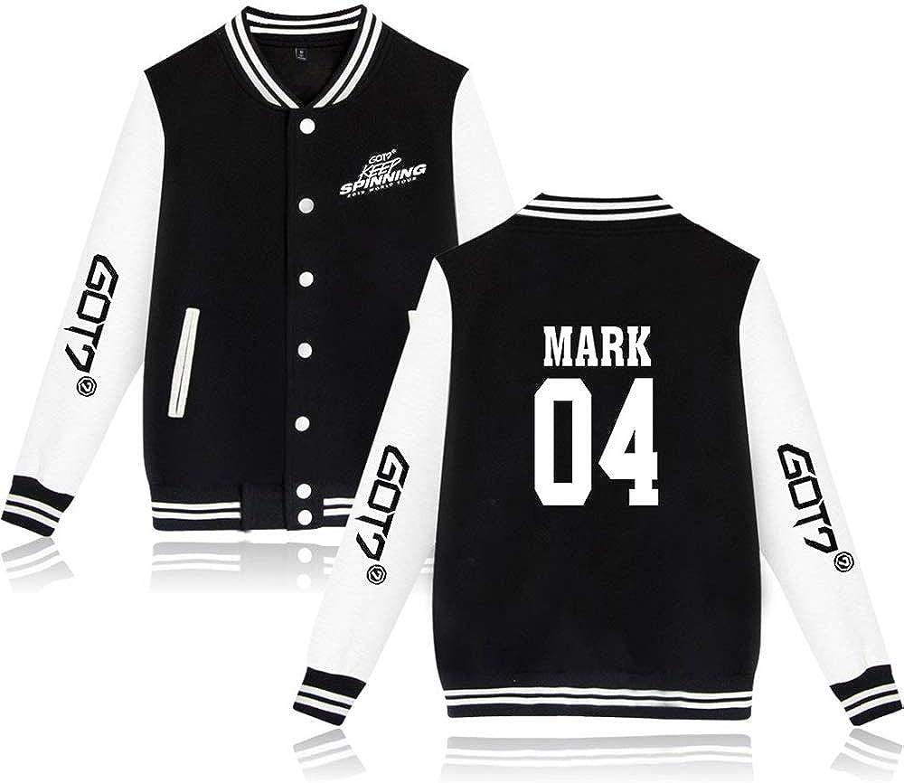 GOT7 Keep Spinning Baseball Jacket Bambam Yugyeom JB JinYoung Mark ...