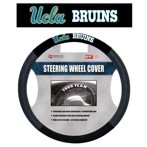 NCAA UCLA Bruins Poly-Suede Steering Wheel Cover by Fremont Die