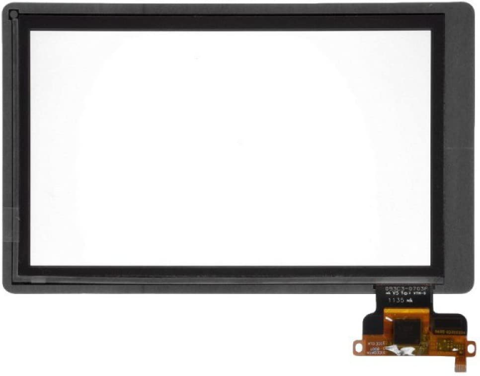 with Glue Card Green Flex Digitizer for  Kindle Fire