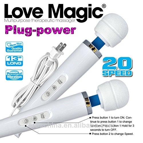 Love Magic Wand Multipurpose Therapeutic Massager Hitachi