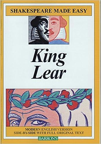 king lear paraphrase