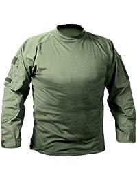 Olive Drab Military Combat Shirt 90015Lrg, Size Large