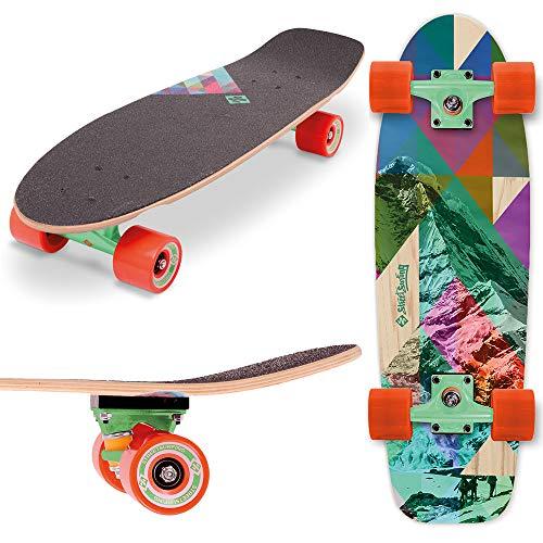 Street Surfing Longboard Cruiser Kicktail 28