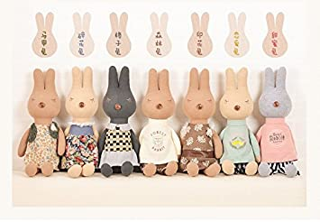 Metoo Kids Toys Plush Rabbit Peluche Toy for Children ty peluches animals Lovely kawaii Cute for