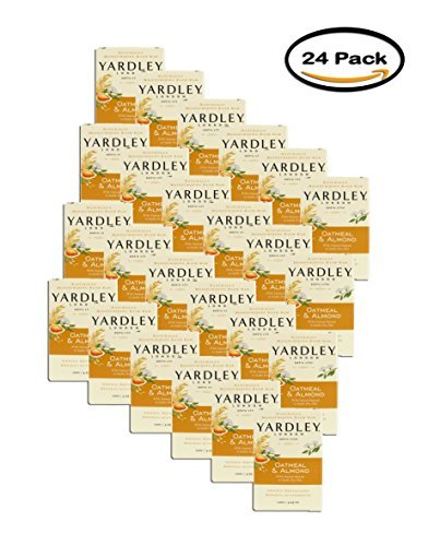 Yardley London Oatmeal and Almond Naturally Moisturizing Bath Bar, 4.25 oz. (Pack of ()