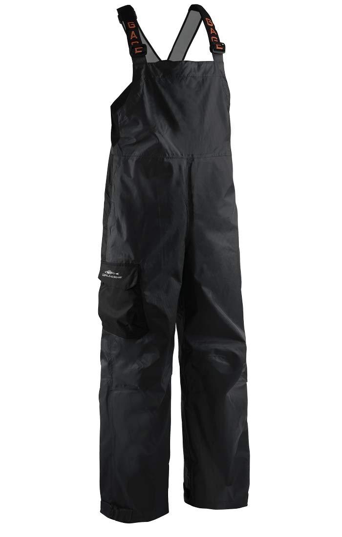 Grundéns Men's Weather Watch Fishing Bib Trousers, Black - Large