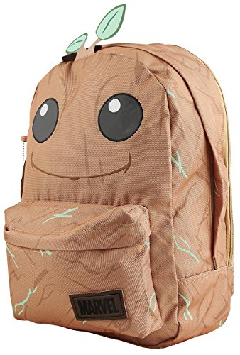 Groot Costume Uk (Guardians of the Galaxy Vol. 2 - Groot Big Face Backpack 13 x 17in)