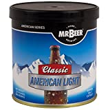 Mr. Beer Classic American Light 2 Gallon Homebrewing Craft Beer Making Refill Kit with Sanitizer, Yeast and All Grain Brewing Extract
