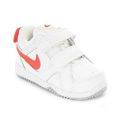 Nike Lykin 11 (TDV), Zapatos de Primeros Pasos para Bebés, Blanco/Naranja/Gris (White/Bright Crimson-Wolf Grey), 21 EU: Amazon.es: Zapatos y complementos