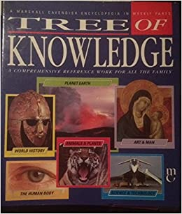 A MARSHALL CAVENDISH ENCYCLOPEDIA IN WEEKLY PARTS TREE OF KNOWLEDGE